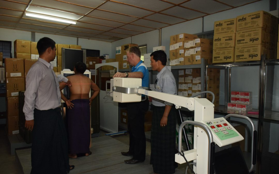 Digital X-Ray's for Myanmar TB Program